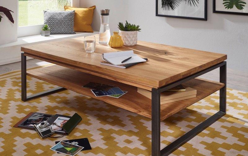 Konferenční stolek z dubového masivu II VISBY