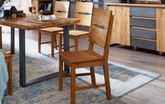 Dubová jídelní židle JAN