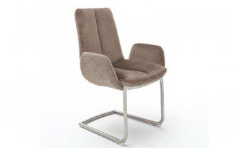 Židle jídelní GRIGOR s područkami cappuccino