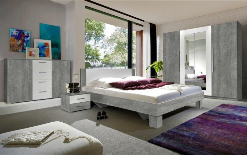 Moderní ložnice VERA beton colorado