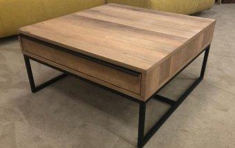 VÝPRODEJ: Konferenční stolek DAKAR (typ 65) dub divoký