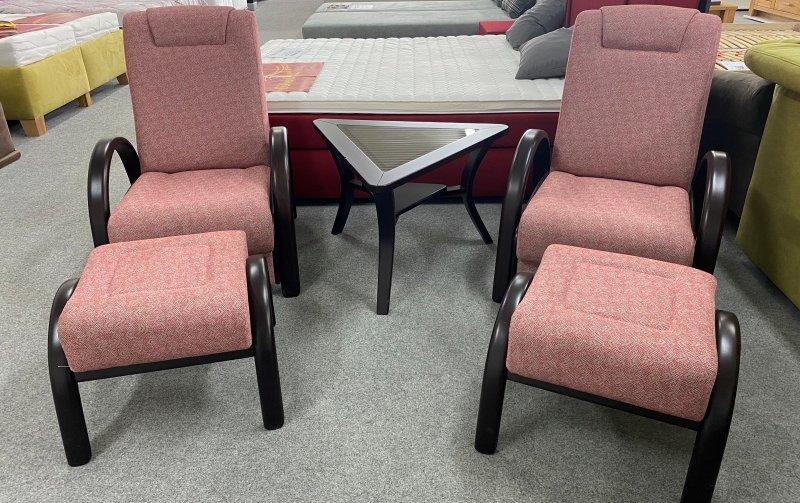 VÝPRODEJ: Klasická sedací souprava OLÍVIE H 2+2