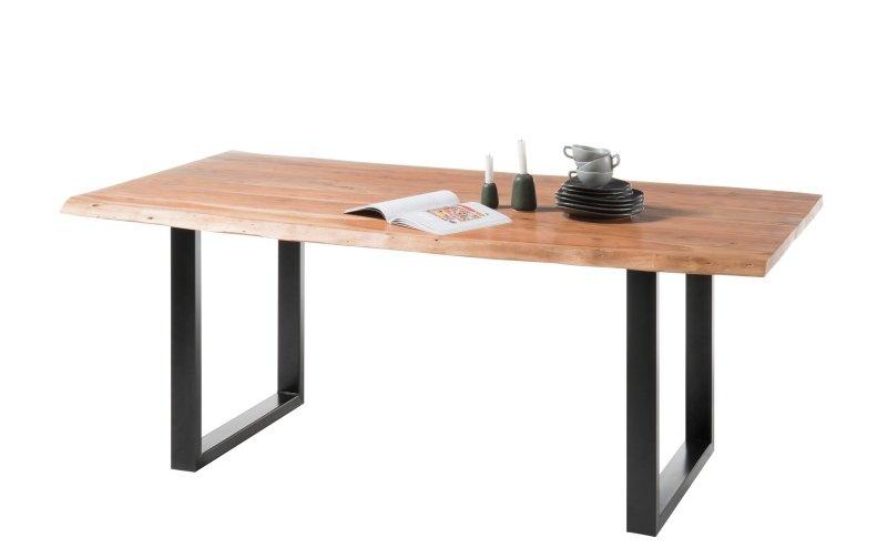Jídelní stůl z masivu 90x180 INDIA akát
