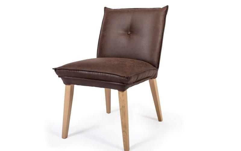 Jídelní židle JASMINA 1 s dubovou podnoží