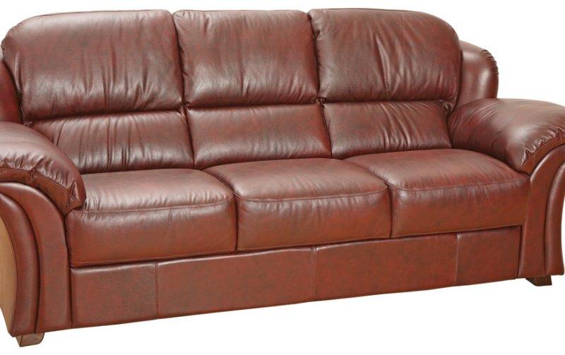 Kožená rozkládací sedačka KENYA