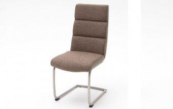 Židle jídelní KAMALA 1 cappuccino/ekokůže