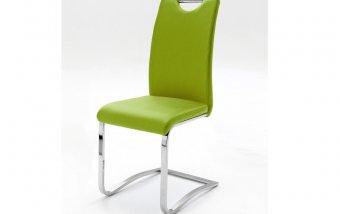 Židle jídelní KOELN ekokůže lime