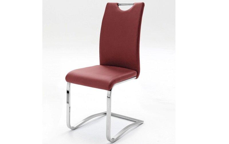 Židle jídelní KOELN ekokůže bordo
