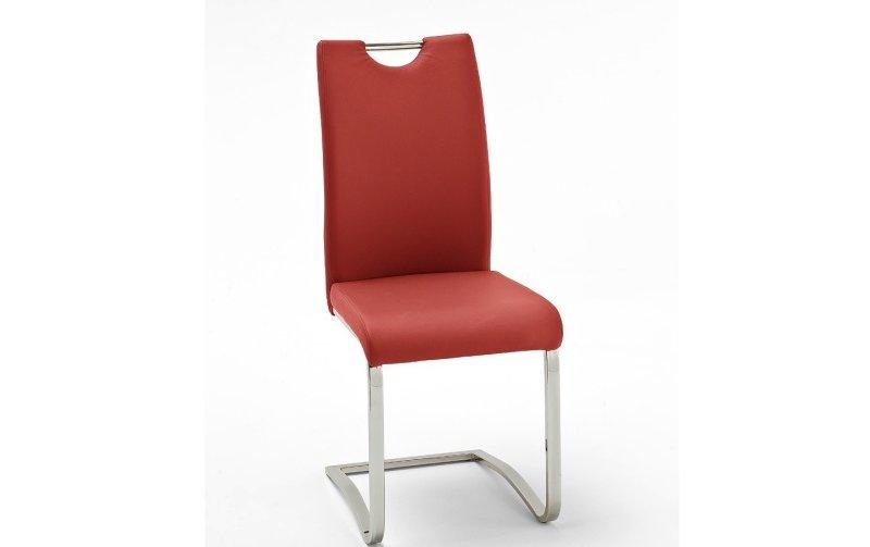 Židle jídelní KOELN ekokůže červená