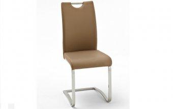 Židle jídelní KOELN ekokůže cappuccino