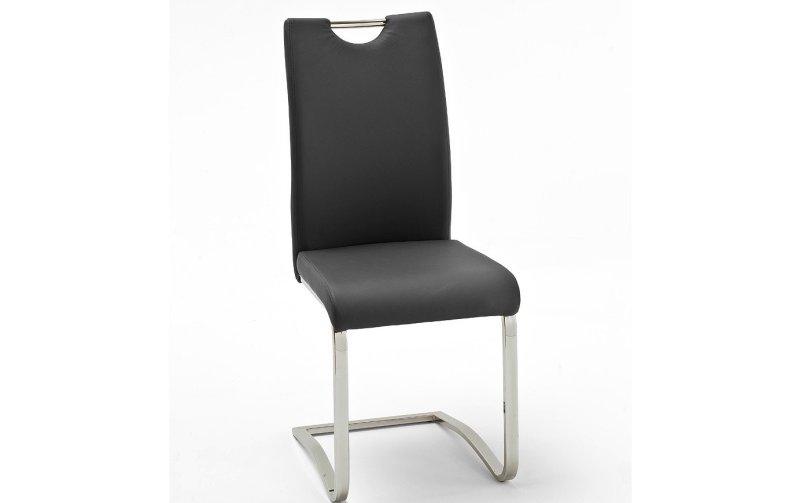Židle jídelní KOELN ekokůže černá