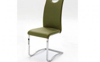 Židle jídelní KOELN ekokůže olive