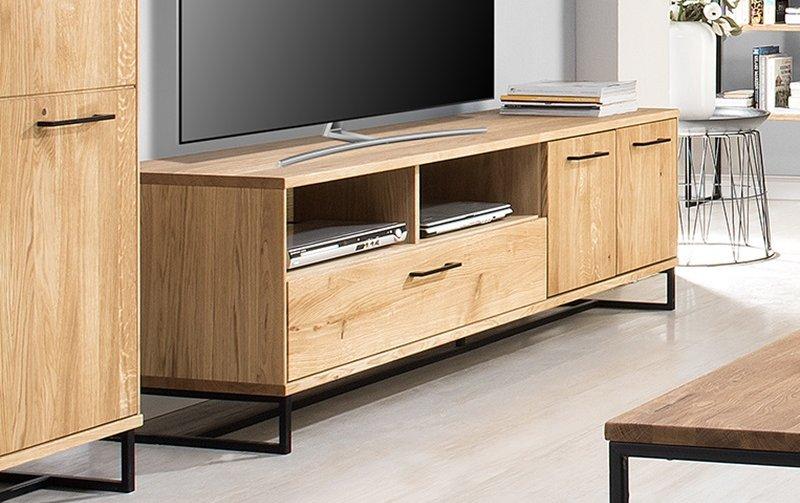 Televizní stolek LAGOS (typ 25) dub přírodní olejovaný