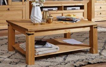 Konferenční stolek ARRE II borovice masiv/barva dub