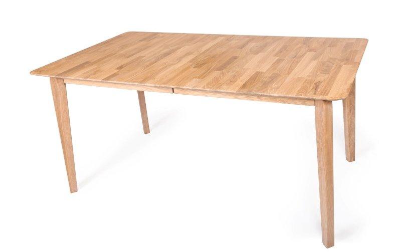 Rozkládací jídelní stůl z masivu MADRID dub bělený