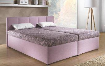 VÝPRODEJ: Čalouněná postel s úložným prostorem MAXI XXL II 160x200 cm