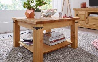 Konferenční stolek ARRE I borovice masiv/barva dub