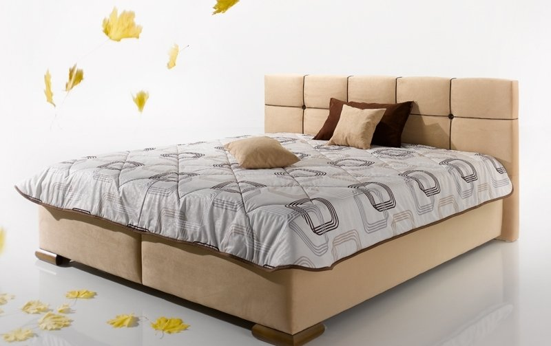 Čalouněná postel s úložným prostorem LASTRA 160x200