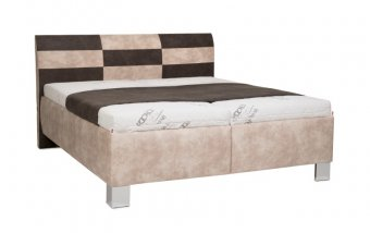 Čalouněná postel s úložným prostorem NEVADA - Pohoda 160x200