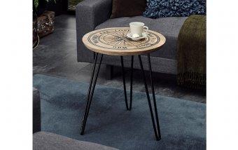 Odkládací stolek NEVIS mangové dřevo