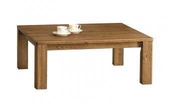 ORLANDO/ROLANDO dubový konferenční stolek typ 66 dub jantar