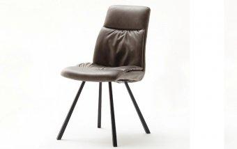 Židle jídelní OXFORD ekokůže cappuccino