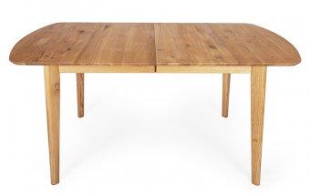 Rozkládací jídelní stůl z masivu PARIS dub rustik