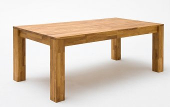 Jídelní stůl z masivu PAUL dub sukatý