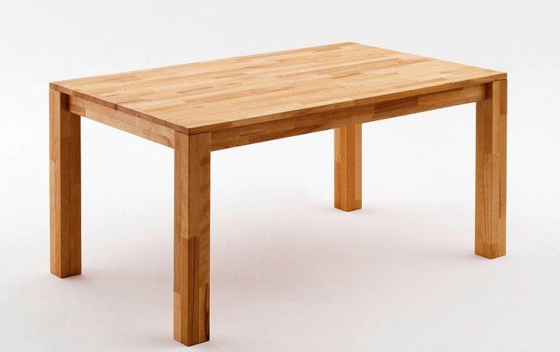 Jídelní stůl z masivu PAUL jádrový buk