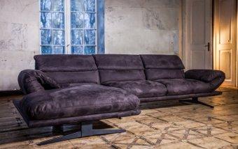 Luxusní designová rohová sedací souprava PERRY