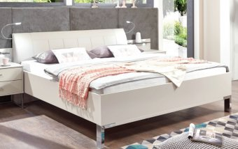 Bílá postel ALASSIO