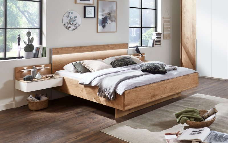 Moderní postel AMARILLO dub balken