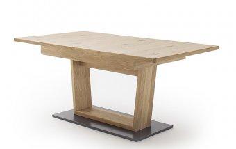 Jídelní rozkládací stůl 60 PORTLAND dub bělený sukatý
