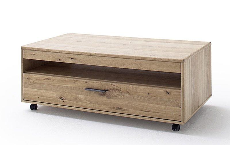 Konferenční stolek 65 PORTLAND dub bělený sukatý