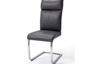 Židle jídelní RABEA/RILEY antik šedá