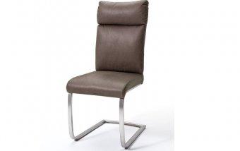 Židle jídelní RABEA/RILEY antik hnědá