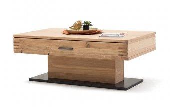 Konferenční stolek SALVADOR (typ 65) dub sukatý bělený