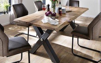 Jídelní stůl z dubového masivu SAMARA