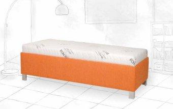Čalouněná postel s úložným prostorem SAVANA - Pohoda 80x200