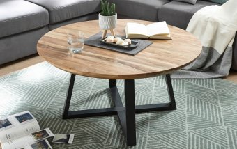 Konferenční stolek z masivu SAFAGA akátové dřevo