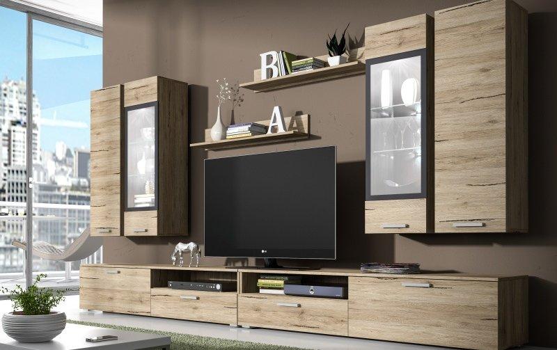 Moderní obývací stěna SARAH 2