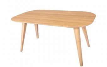 Jídelní stůl z masivu SANTORINI dub bělený