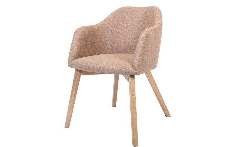 Jídelní židle STELLA s dubovou podnoží