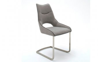 Židle jídelní ALDRINA světle šedá