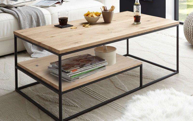 Konferenční stolek z masivu THORE 2 dub přírodní