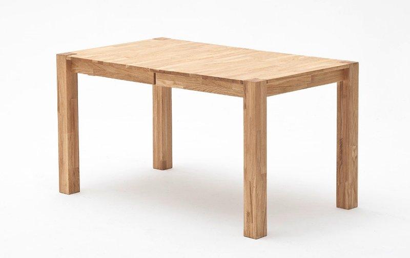 Rozkládací jídelní stůl z masivu FRANZ dub divoký