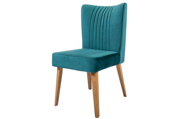 Jídelní židle TICIANA s dubovou podnoží