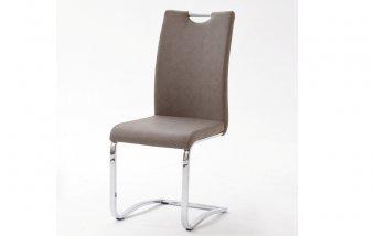 Židle jídelní TIA ekokůže taupe