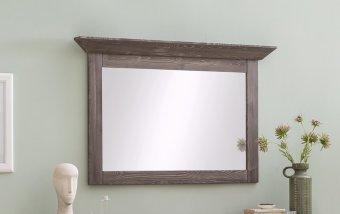 Zrcadlo do ložnice ALEO borovice antik