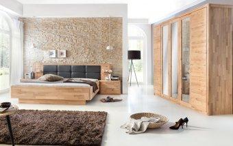 Dubová ložnice z masivu MICAJA dub bělený